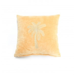 Cushion Cover Makkamalee Velvet Mustard