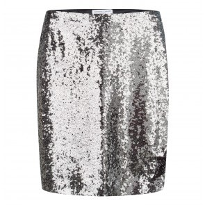 Skirt Sequin Silver
