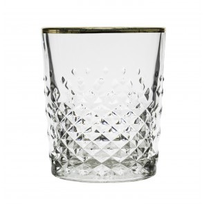 Glass Libbey Carats Gold