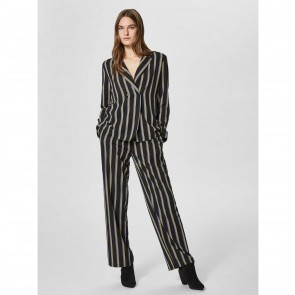 Soft Blazer Eda Black Stripes