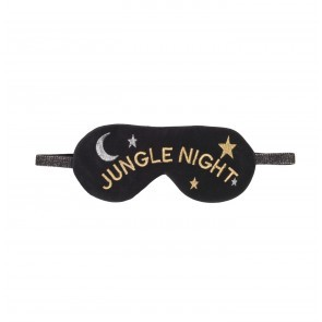 Sleep Mask Jungle Black