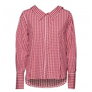 Shirt Liz Red White Check