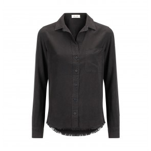 Shirt Fray Hem Nightshade