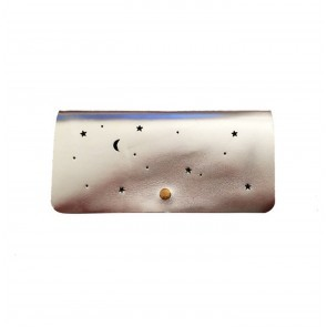 Clutch Wallet Star Silver