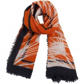 Scarf Lowell Orange Palm