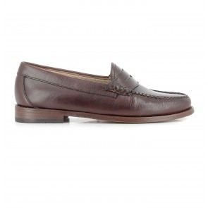 Weejuns Penny Loafers Burnish Dark Brown