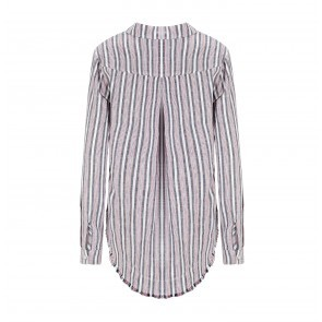 Shirt Fray Hem Americana Stripe