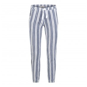 Jogger Side Fray Sailor Blue