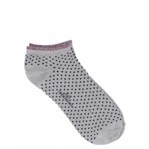 Socks Dollie Dot Grey Melange