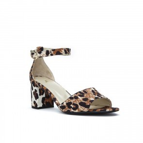 Pump Yasmine Canvas Leopard