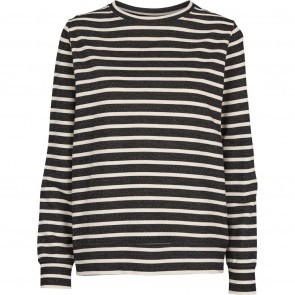 Sweater Universe Black Off White Stripes