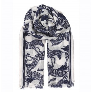 Scarf Zephyr Blue Nights