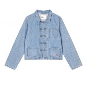 Jacket Virgile Blue Bleach