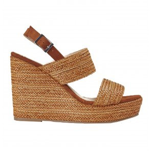 Wedges Tropic Rafia Coffee