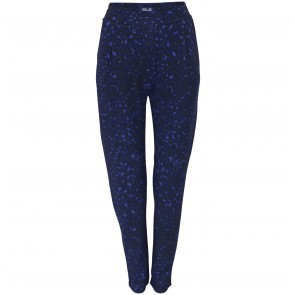 Trousers Jedda Blue Leopard