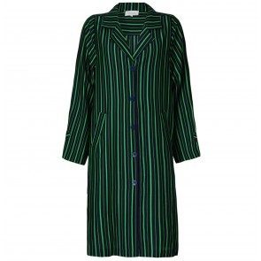 Coat Pistoia Green Navy