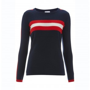 Top Andrea Navy/Red/Cream