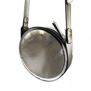 Circle Bag Silver Metallic