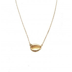 Necklace shell gold
