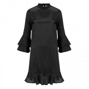 Dress Novick Jaquar Black Stripe