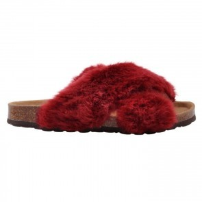 Slipper Fur Red