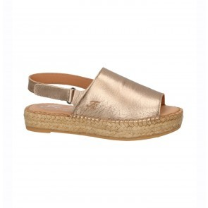 Espadrille Paris Metalic Bronze