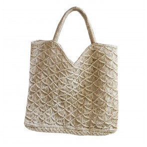 Beach Bag Jute Olivia Natural