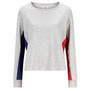 Pullover Colourblock Heather Grey