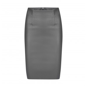 Leather Skirt Astrid Antracite