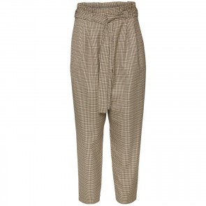 Pants Sunrid Brown Mini Check