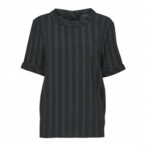 Top Florenta Black Scarab Stripes2