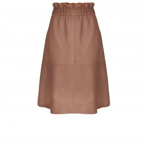 Leather Skirt Temari Latte