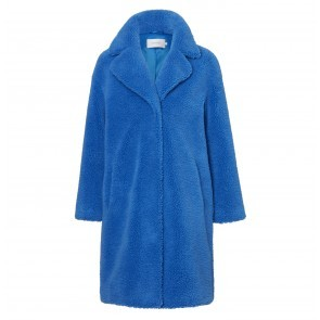 Cocoon Coat Camille Electric Blue