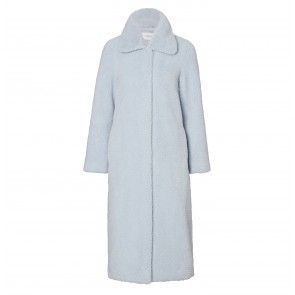 Coat Gilberte Pale Blue