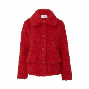 Coat Noemie Red