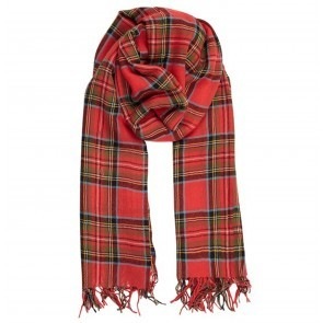 Scarf Eva Red Check