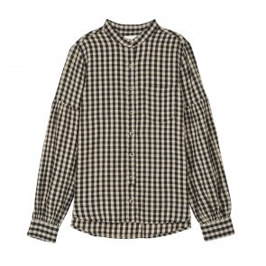 Blouse Carlota Black White Check