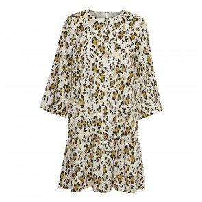 Dress Leopa Golden Leopard