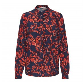 Shirt Raida Red Flower