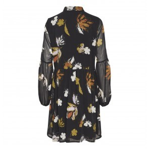 Dress Amali Black Flower Print