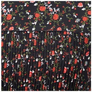 Dress Mack Black Flower