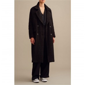 Coat Terence Black Check
