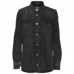 Denim Shirt Vilma Black