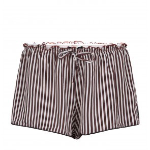 Pyjama Shorts Audrey H Beige Stripes