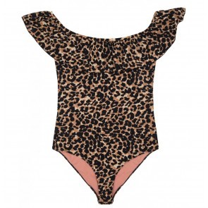 Bathingsuit Jazzy Brown Leopard