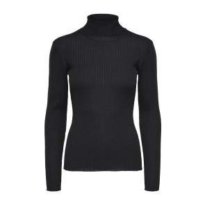 Knit Rollneck Costa Black