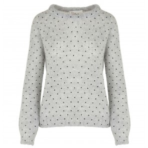 Sweater Lady Dots Grey