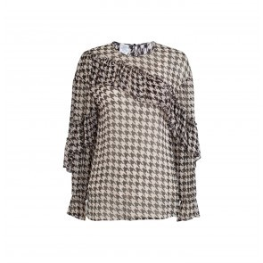 Top Merit Sharp Houndstooth