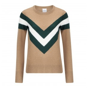Jumper Akiva Camel/Dark Green