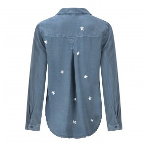 Blouse Stars Pocket Obsidian